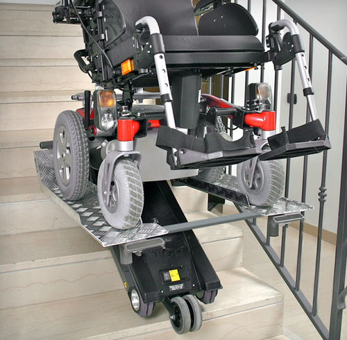 wheelchair stair climber / for transfer chairs / crawler