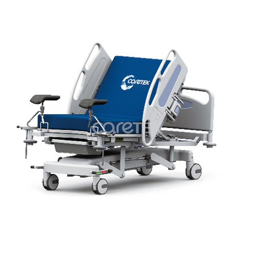 delivery bed / manual / height-adjustable / on casters