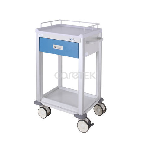 multi-function cart / for medical devices / 1-drawer / medical