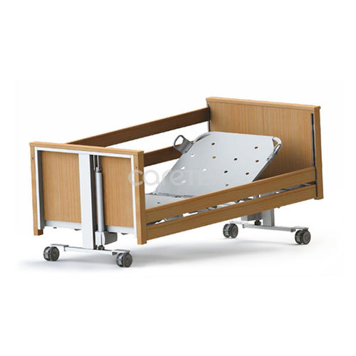 medical bed / electric / height-adjustable / ultra-low