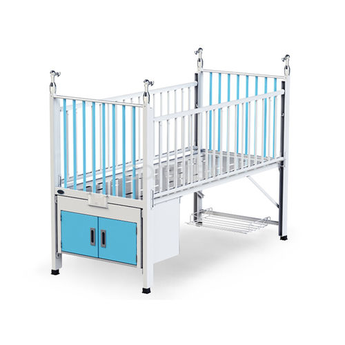 medical bed / manual / fixed-height / pediatric