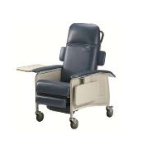 reclining patient chair / on casters / Trendelenburg / manual