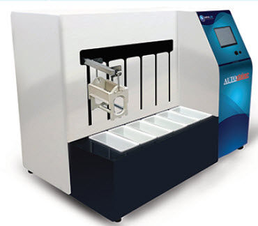 sample stainer / fully automated / laboratory / for histology