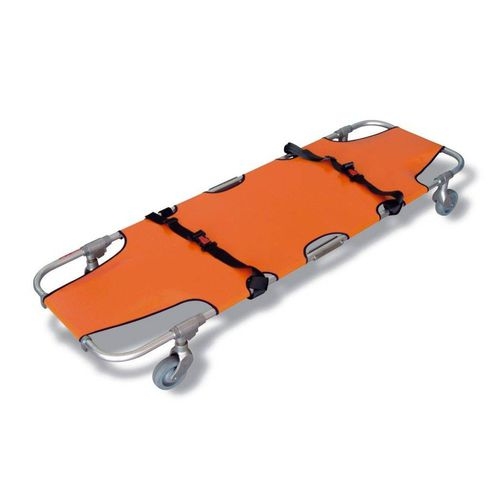 emergency stretcher / rescue / folding / on casters