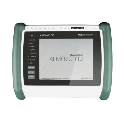 universal data logger / with touchscreen