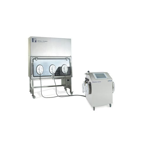 glove integrity tester / for laboratory isolators / RABS / trolley-mounted