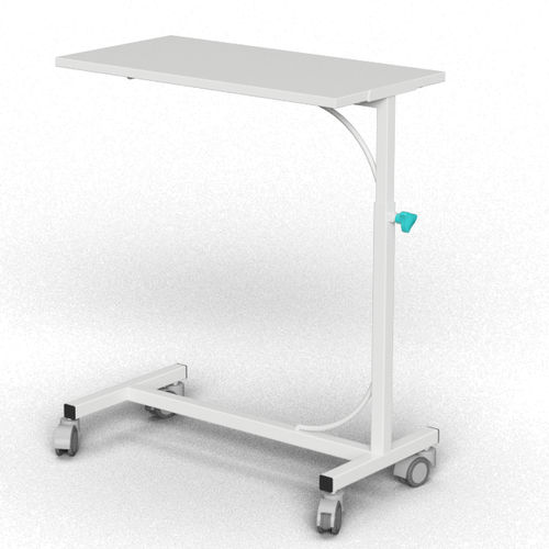 overbed table on casters