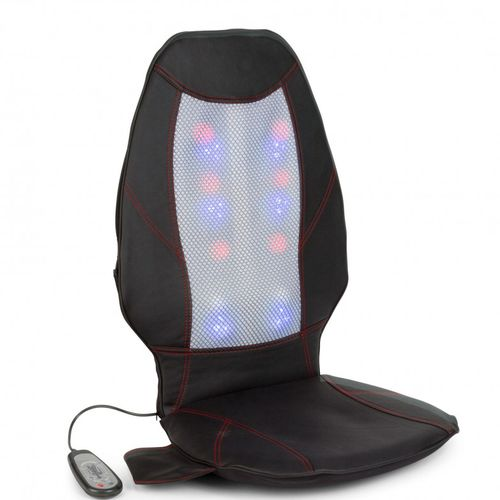 Shiatsu massage seat cover / heated