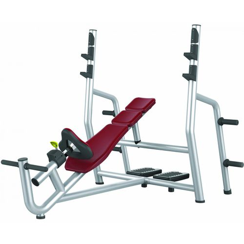 inclined weight training bench