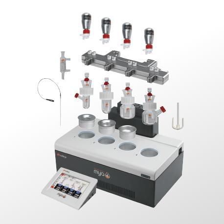 laboratory reaction station / automated / heating / cooling