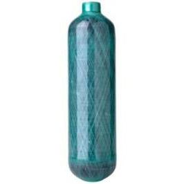 oxygen medical gas cylinder / carbon composite