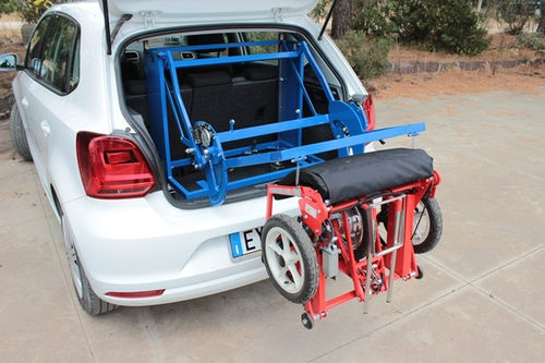 car wheelchair hoist / electric