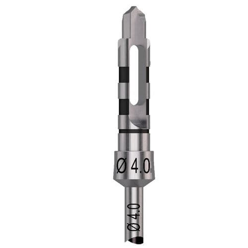 bone profile drill bit / for dental implantology