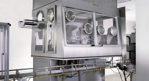 pharmaceutical packaging isolator / sterile / floor-standing / modular