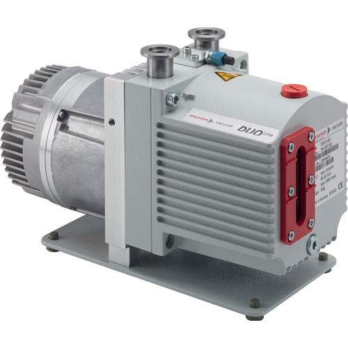 laboratory vacuum pump / rotary vane / lubricated / high-performance