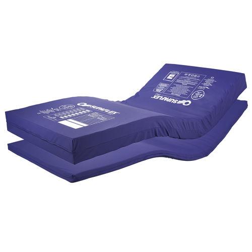 hospital bed mattress / polyurethane / waterproof / fire-resistant