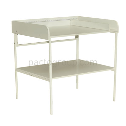 changing table / rectangular / pediatric / collapsible