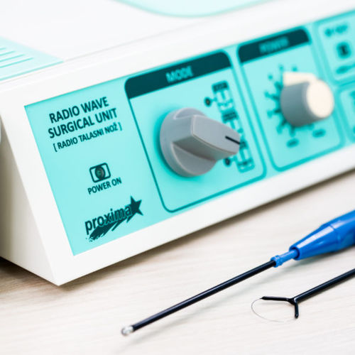 cutting electrosurgical unit