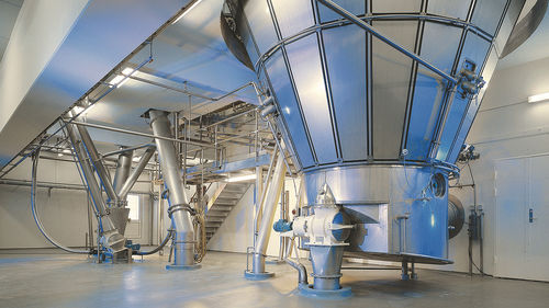 fluidized bed dryer / spraying / for the food industry