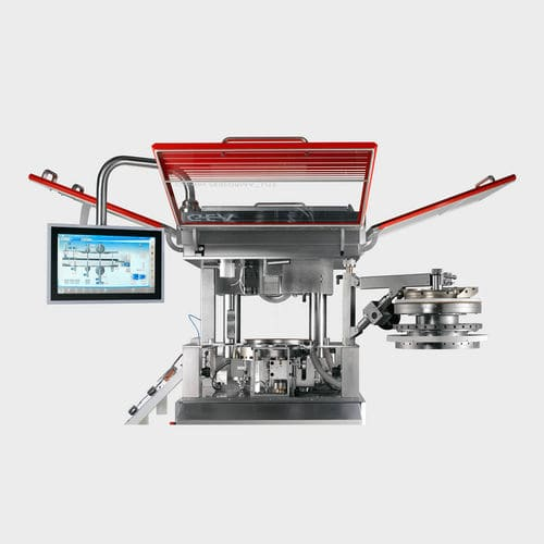 tablet press / for the pharmaceutical industry / compact / fully-automatic