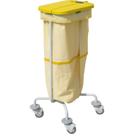 cleaning trolley / for linen / 1-bag / medical