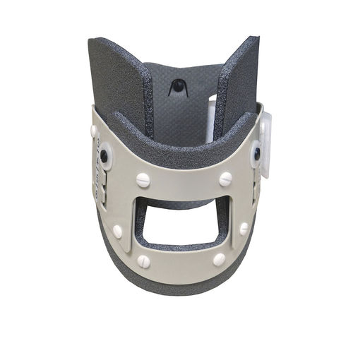 1-piece emergency cervical collar / with tracheal opening