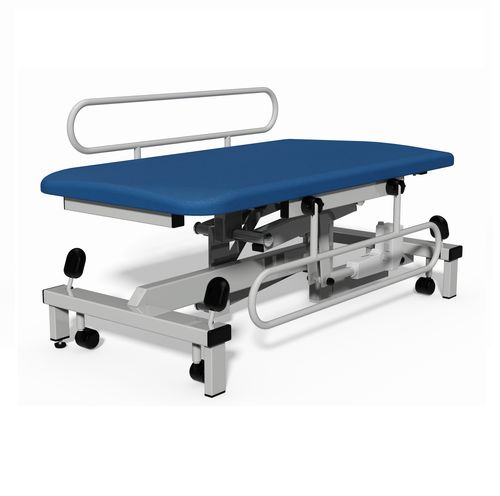 changing table / on casters / height-adjustable / electric