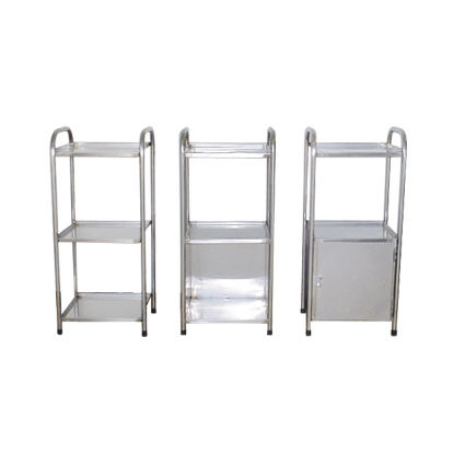 hospital cabinet / with door / with tray / modular