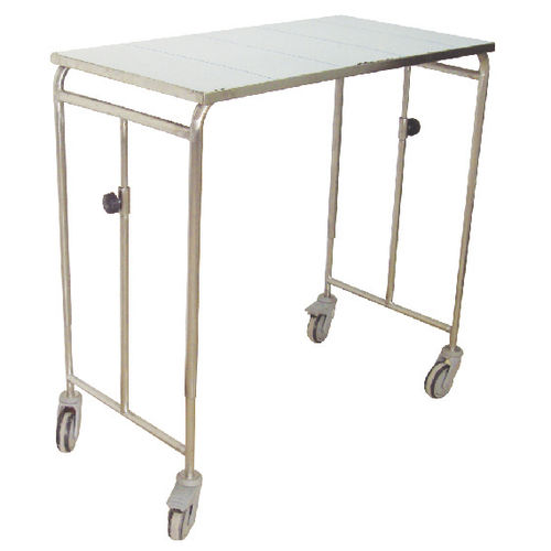 storage trolley / for instruments / 1-tray / medical