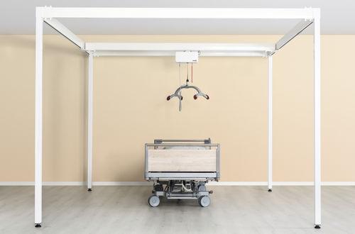 patient lift rail