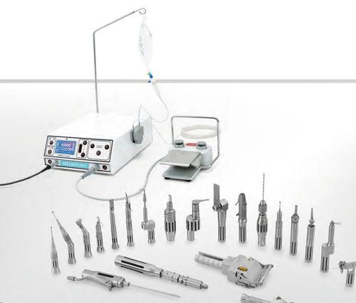ENT surgery micromotor control unit