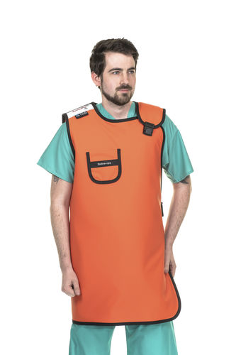 X-ray protective apron / X-ray protective thyroid collar / front protection / rear protection