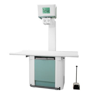 veterinary X-ray system / digital / analog