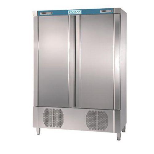 laboratory freezer / cabinet / combination / 2-door