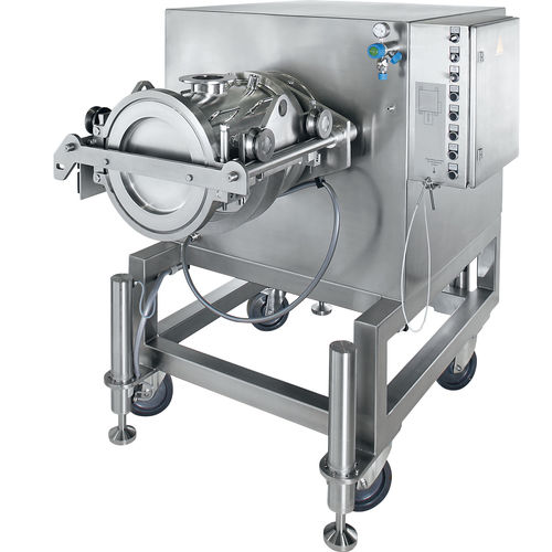 mixer for the pharmaceutical industry