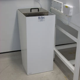 radioactive isotope cabinet