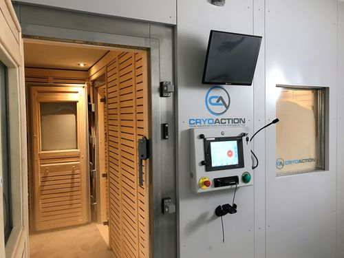 cryotherapy room