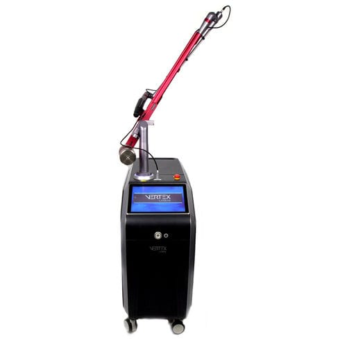 tattoo removal laser / Nd:YAG / trolley-mounted