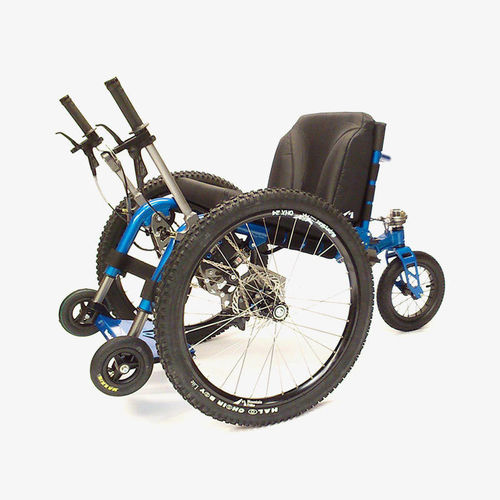 lever-propelled wheelchair