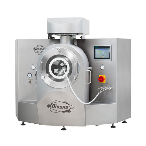 laboratory coating system / for tablets / with dryer / granulator