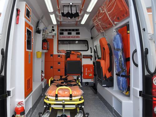 intensive care ambulance / van / box / light van