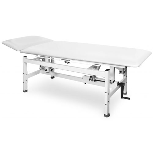 manual massage table / height-adjustable / 2-section