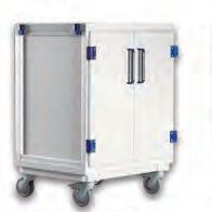storage trolley / with drawer / modular
