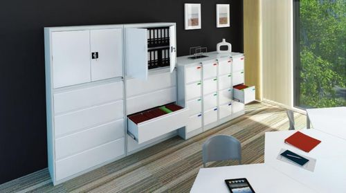 storage cabinet / with drawer / with door / modular