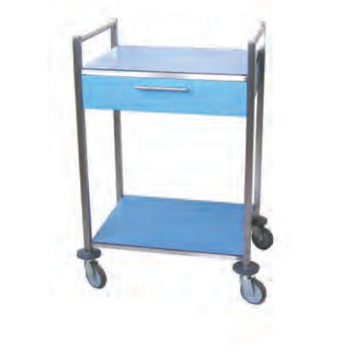 service trolley / with drawer / with tray