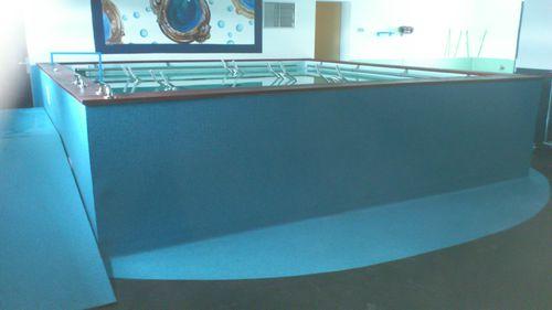 above-ground rehabilitation swimming pool