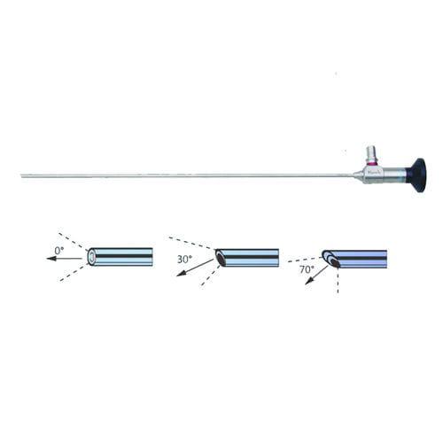 cysto-urethroscope / straight / wide-angle