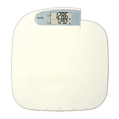 electronic patient weighing scale / with digital display / battery-powered