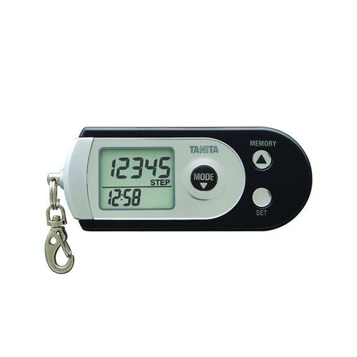pedometer with 3-axis sensor / calorie counter