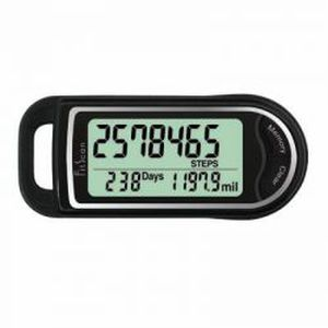 pedometer with 3-axis sensor